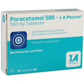 Paracetamol 500-1a Pharma Tabletten